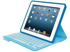 Logitech FabricSkin Keyboard Folio für Apple iPad 2-3-4 BLAU 05335 FR-LAYOUT NEU