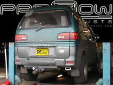 MITSUBISHI DELICA STAINLESS STEEL CUSTOM BUILT EXHAUST SYSTEM OVAL TAIL PIPES