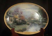 Lamplight Village Lamplight Brooke Thomas Kinkade Collector Plate