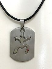 NEW PUERTO RICO BORICUA COQUI TAINO w MOVEMENT S/S PENDANT NECKLACE SOUVENIRS
