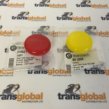 Land Rover Series 2 & 3 4WD & High / Low Transfer Red & Yellow Knobs - Bearmach