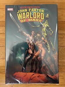 Marvel Comics JOHN CARTER WARLORD OF MARS OMNIBUS Hard Cover (2012) Global Ship