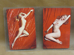 Lot 2 Marilyn Monroe Swap Playing Cards Near Mint