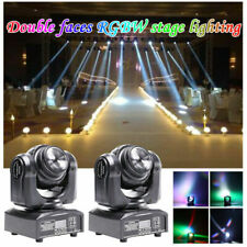 2x 100W Stage Lighting Led Dmx Moving Head Double Sides Dj Disco Party Light Us