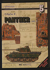 TANK POWER PzKpfw V PANTHER Vol 5 Waldemar Trojca First Ed2001 AJ Press Softback