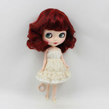 "Takara 12"" Neo Blythe Nude Doll From Factory wine red hair free shipping new HOT"
