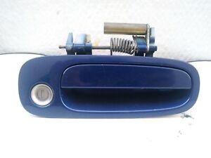 2001-2005 TOYOTA CELICA RIGHT PASSENGER SIDE EXTERIOR DOOR HANDLE BLUE (OEM)