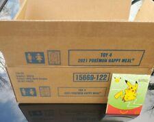 Pokemon McDonald's Case (OPEN) 25th Anniversary Promo 150 intact packs All #4 's