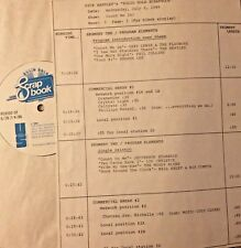 RADIO SHOW: 7/2/86 COUNT ME IN! PHIL COLLINS, MOODY BLUES, BILL HALEY, BEATLES