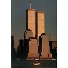 TWIN TOWERS - NEW YORK CITY POSTER - 24x36 TWINS MANHATTAN SKYLINE 36022