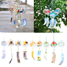 Wind Bell Japanese Wind Chimes Handmade Glass Wind Chimes Different Patterns