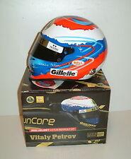 Vitaly Petrov, CASCO 200/11 Gillete 1/2 Scala NUOVO CON SCATOLA RENAULT F1 Bell