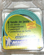 Michelin 571 x 16 Green Rim Strips / Tire Liners 2 Pack NEW!