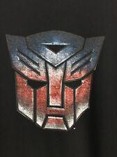 Transformers Mens T Shirt  Classic Autobot  Distressed 2 Tone Logo 2X