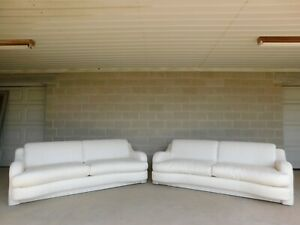 Vintage Mid Century Modern Sofa by Directional - a Pair