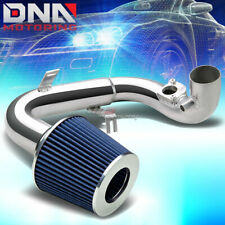 """FOR 04-06 SCION xA COLD AIR INTAKE 2.5"""" PIPING JDM+2.5"""" BLUE TAPERED CONE FILTER"""
