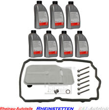 FEBI Ölwechsel Set Inspektions-Kit 7G TRONIC Automatikgetriebe 7L ATF ÖL Blau