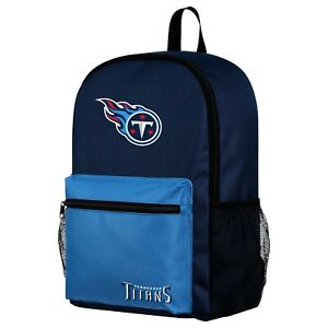 NFL Tennessee Titans  Two Tone Backpack with Team Logo