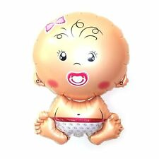 """Its A Girl 32""""  Baby Shape Shower Anniversary Party decoration Foil Balloon"""