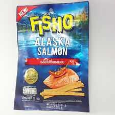 Delicious FISHO spicy salmon flavor Fish Meat Snack Diet Food EPA DHA Omega 3