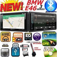 BMW E46 NAVIGATION GPS SYSTEM DVD CD USB BT BLUETOOTH Car Stereo Radio