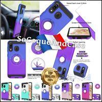 Etui coque magnétique Ring case cover Samsung Galaxy A10e/A20e, A20/A30/A50