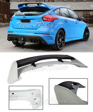 For 13-Up Ford Focus Hatchback RS Style Rear Roof Trunk Wing Spoiler ABS Plastic