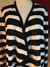 Jones Of New York Signature Woman's Open Cardigan NWT Size Large Retail $79.00