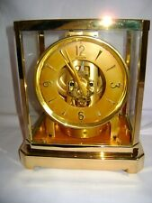 1955 JAEGER LECOULTRE ATMOS CLOCK CALIBER 519 FULLY SERVICED DEC 2017 & REPLATED