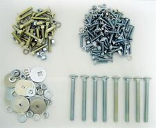 Pickup Bed & Angle Strip Hardware Kit 1967-72 Chevy Truck Short Stepside Bed