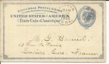 Nashua (Chickasaw County) Iowa Nov / 18/1901 , Al Card-Sc # UX6A Louviers