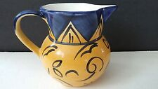 Italian Pottery Ceramics Rivignano Casarsa Wines Vino Wine Water Pitcher Jug