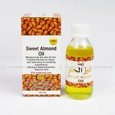 Aceite de almendra dulce 125 Ml por Original 100% Puro Natural Aceite para el cabello y cuidado de la piel