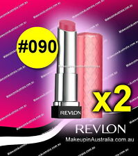 CHEAP MAKEUP 2x Revlon Colorburst Lip Butter Sweet Tart 090 Lipstick