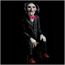Saw Billy Puppet Prop  Replica by Trick or Treat Studios Jigsaw Halloween Prop