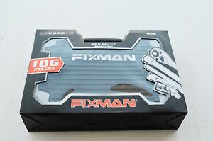 Clearance!!! Fixman 106pc Home Tool Socket Set Household Tools Set Kit Hard Case