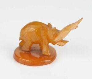 Vintage Bakelite elephant figurine (3)
