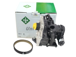 06L121111H VW AUDI Upgrated INA OEM Thermostat Water Pump Belt Kit 1.8TSI 2.0TSI