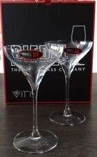 RIEDEL Fine Crystal VITIS MARTINI GLASSES (Pair New)