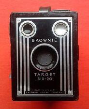 Appareil photo Brownie Target Six-20 avec étui