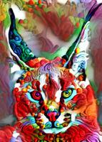 """ACEO Collectible Art Card """"Lynx"""""""