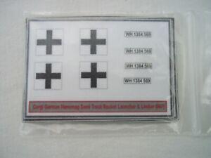 Corgi German Hanomg Semi-track stickers Closing down sale everything must go