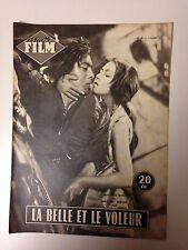 AMOR FILM N°41 1954 LA BELLE ET LE VOLEUR / MACHIKO KYO - RENTARO MIKUNI