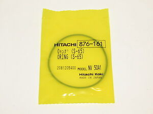 O-Ring S-65 Model NV 50A1 Hitachi #876-161 (Lot of 10)