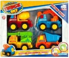 Friction Construction Truck Set