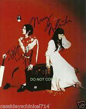 "The White Stripes band duo Reprint Signed 8x10"" Photo #1 RP Jack & Meg White"