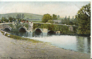 Cornwall Postcard - Lostwithiel Bridge - Ref TZ6177