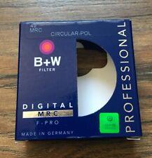 B+W CPL 49mm Circular Polarizer MRC F-Pro-Great Condition
