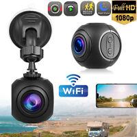 Mini WiFi Car Dash Cam FHD 1080P GPS Camera Dashboard W/ G-Sensor Night Vision