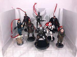 Disney Star Wars The Mandalorian Custom Christmas Ornament 9pc Set The Child NEW